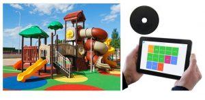 aires de jeux RFID