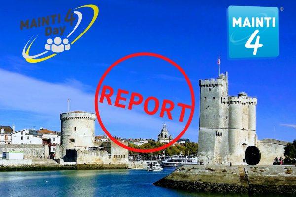 Report Mainti4 day